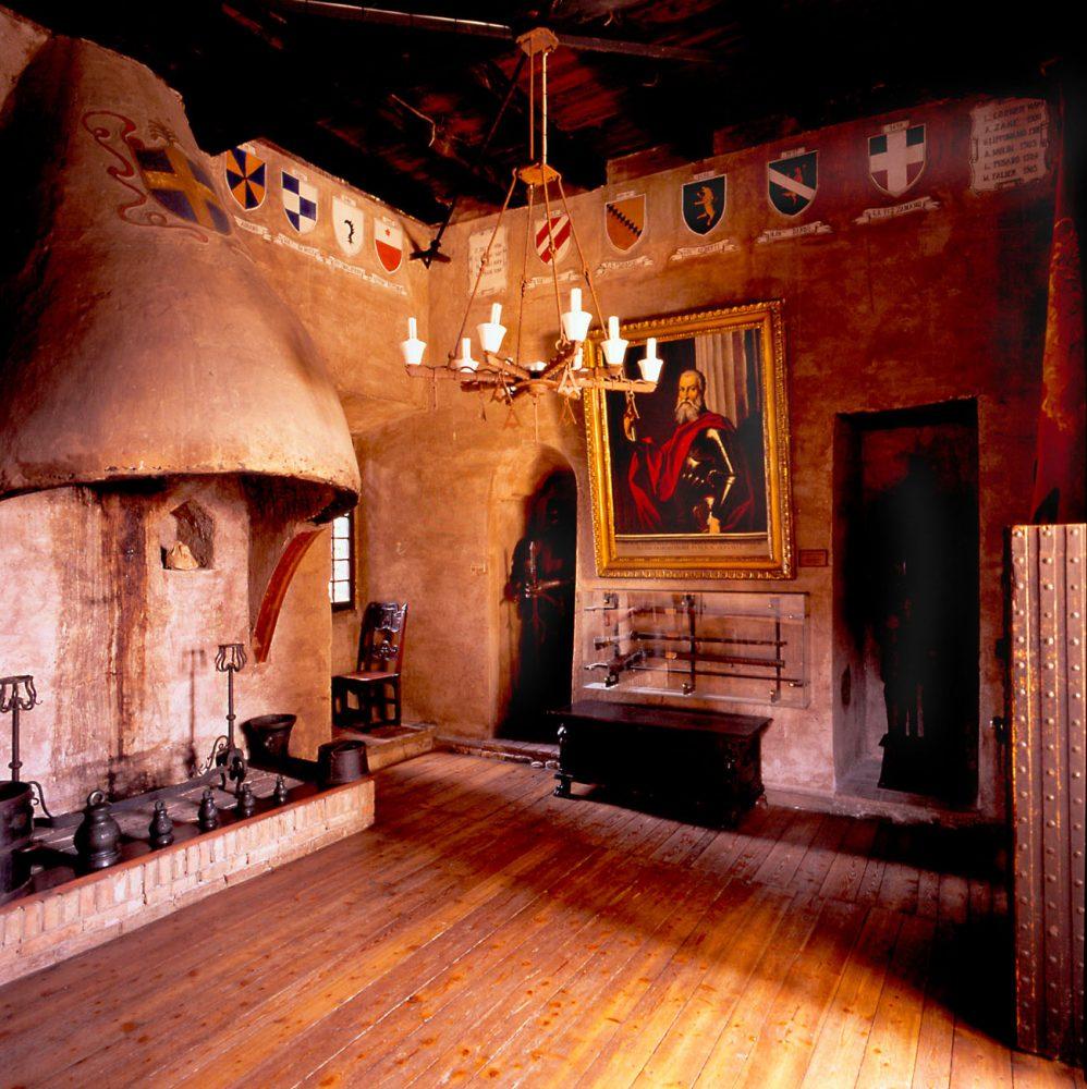 Interno museo - Sala del Camino