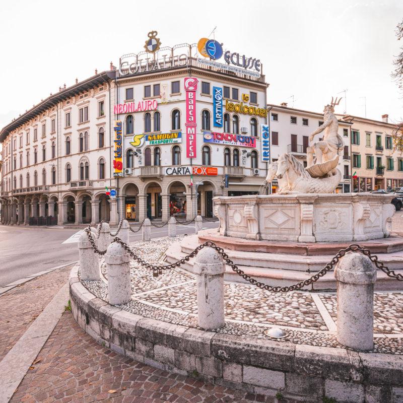 Fontana del Nettuno oder dei Cavalli - Visit Conegliano