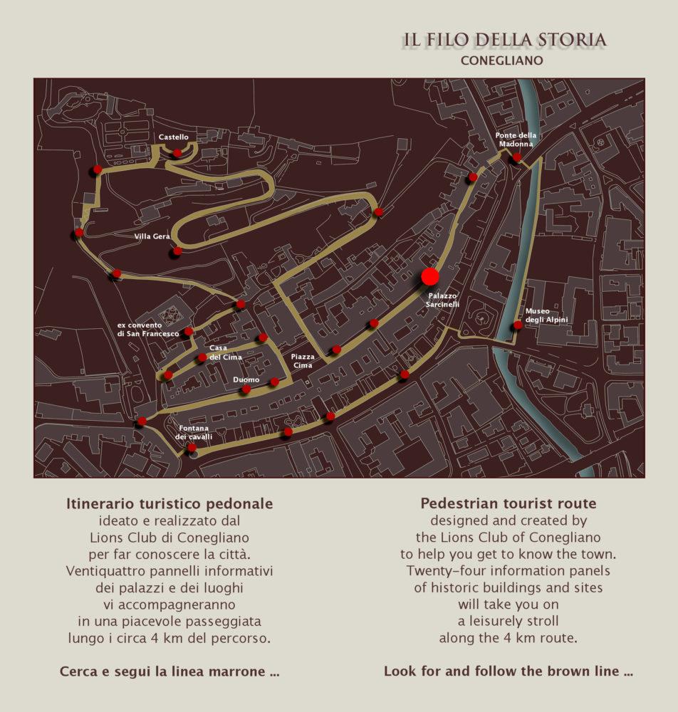 """Tour along """"Il Filo della storia"""""""