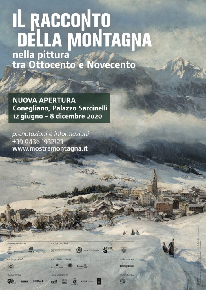 Il racconto della montagna nella pittura tra '800 e '900