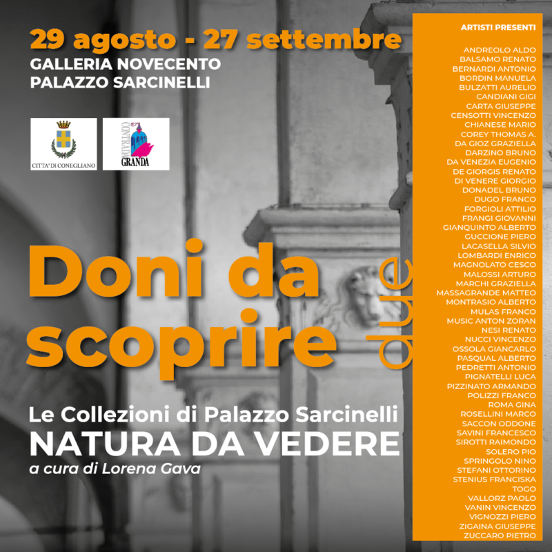 "Guided tour at the exhibition ""Doni da scoprire due"". - Visit Conegliano"