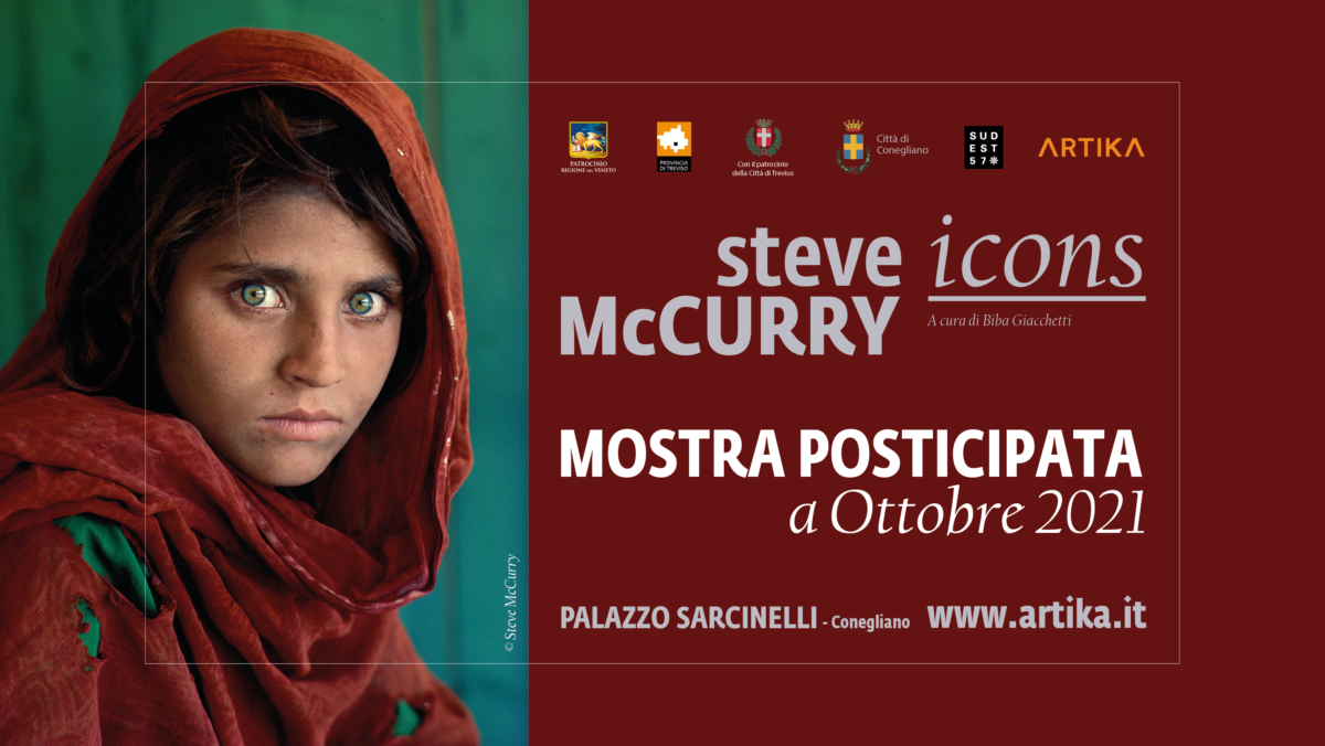 Photo Exhibition by STEVE MCCURRY