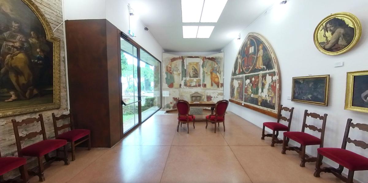Interno museo - Sala Vazzoler